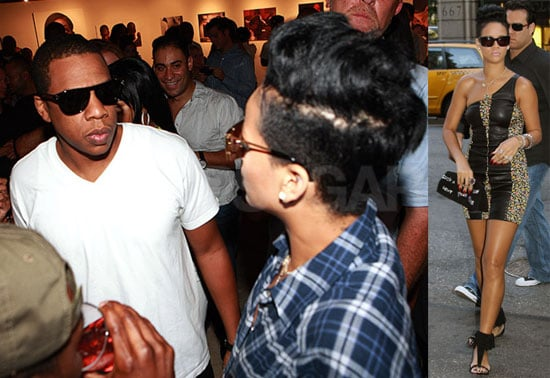 Photos of Rihanna and Jay-Z at a Rocawear Party in NYC
