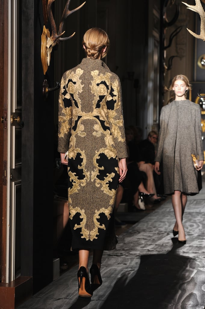 Valentino's embroidery was unrivaled.