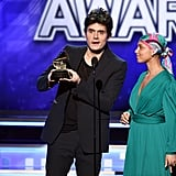 Pictured: John Mayer and Alicia Keys