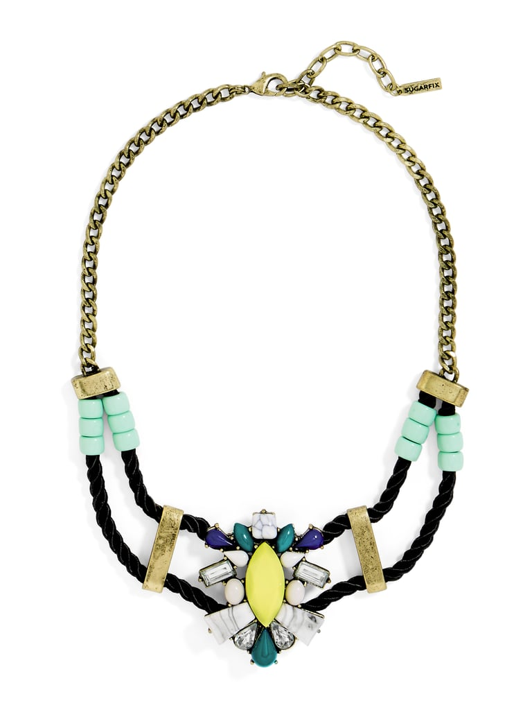 d3167b3390589 SugarFix by BaubleBar x Target Multicolor Necklace With Rope Detail ...