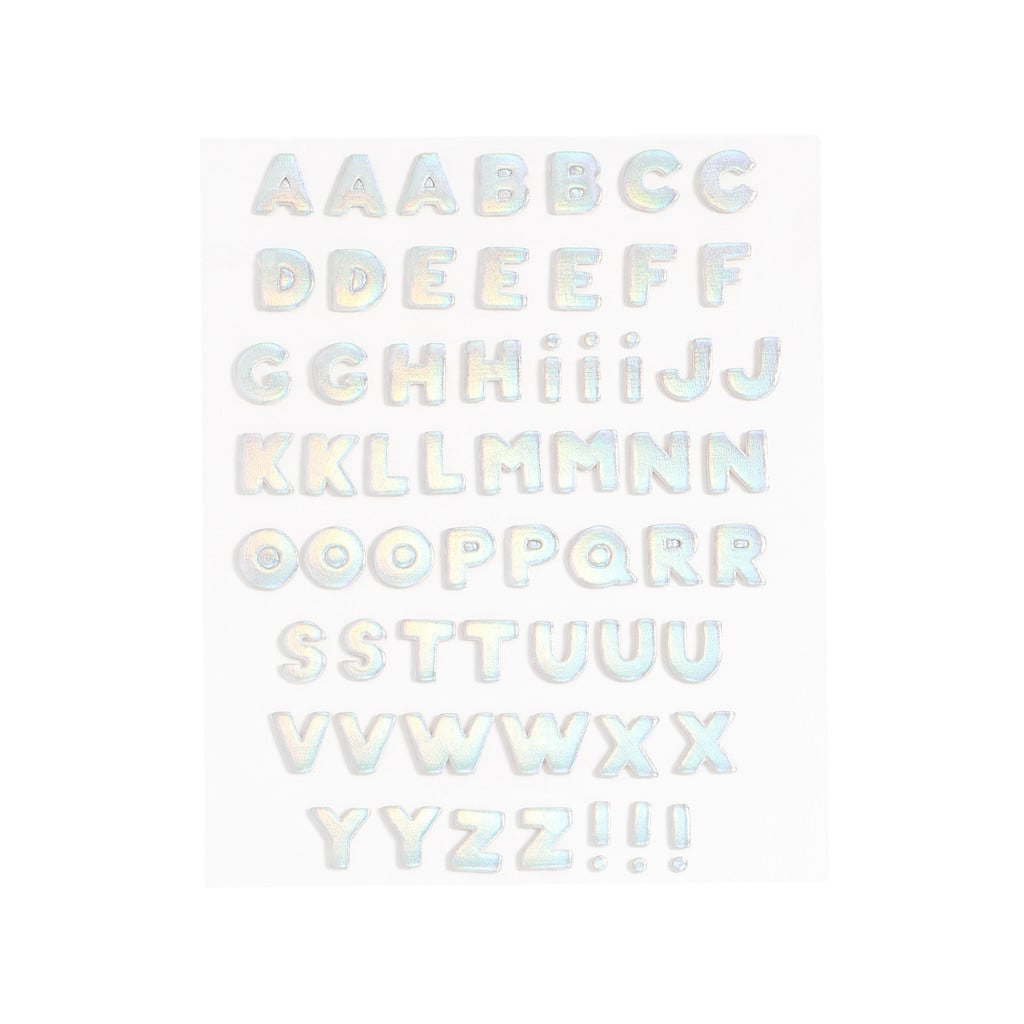 Plushie Sticker Letter Set