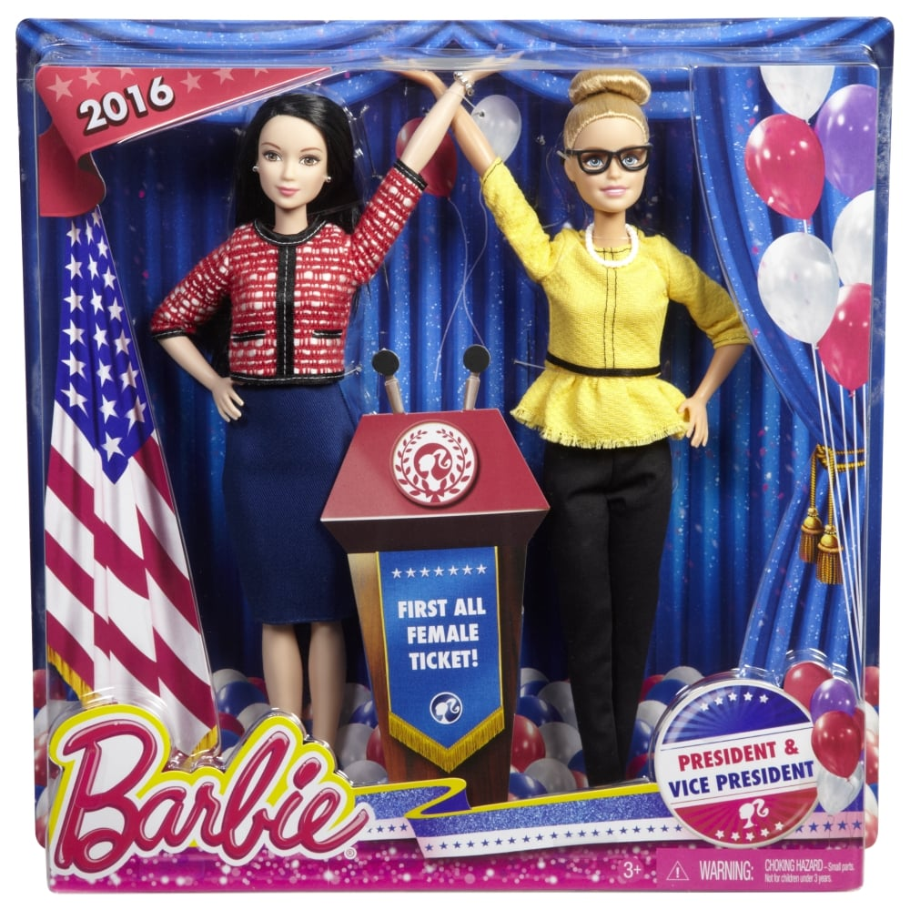 Barbie President and Vice President Dolls
