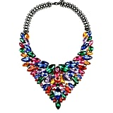 Eye Candy Los Angeles Black Ice Statement Necklace