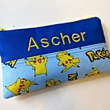 Personalized Pokémon Pencil Pouch