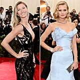 Though Gisele Bündchen used to date Toni Garrn's current boyfriend, Leonardo DiCaprio, it seems like Gisele has already made it clear that there's no bad blood between her and her fellow model; the two looked friendly as ever at a party for hairstylist Harry Josh ahead of the Met Gala. This awkward run-in is more of an honorable mention.