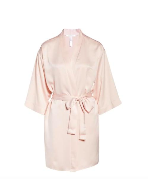Satin Short Robe