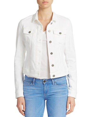 Paige Vermont White Denim Jacket ($189)