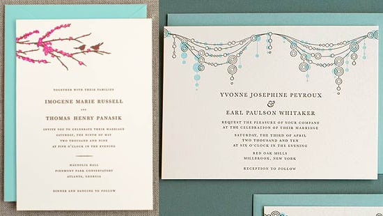 The Card Shop: Hello! Lucky Wedding Invitations by Joel Dewberry and EIEIO