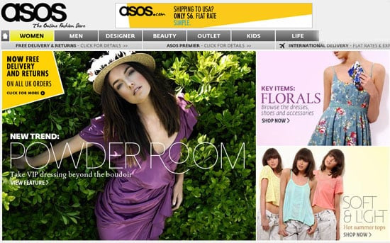 Asos to Launch New US Online Shopping Site
