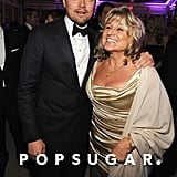 Despite not taking home any awards, Leonardo DiCaprio brought his mom, Irmelin, along to celebrate at the Vanity Fair afterparty.