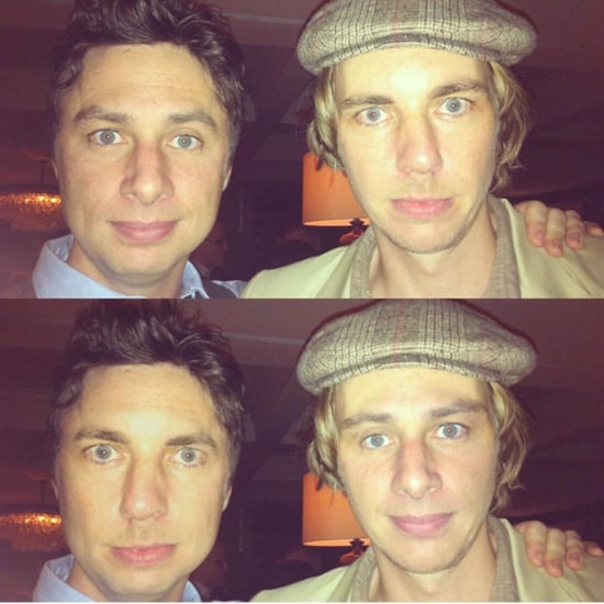 Dax Shepard and Zach Braff Face Swap Picture