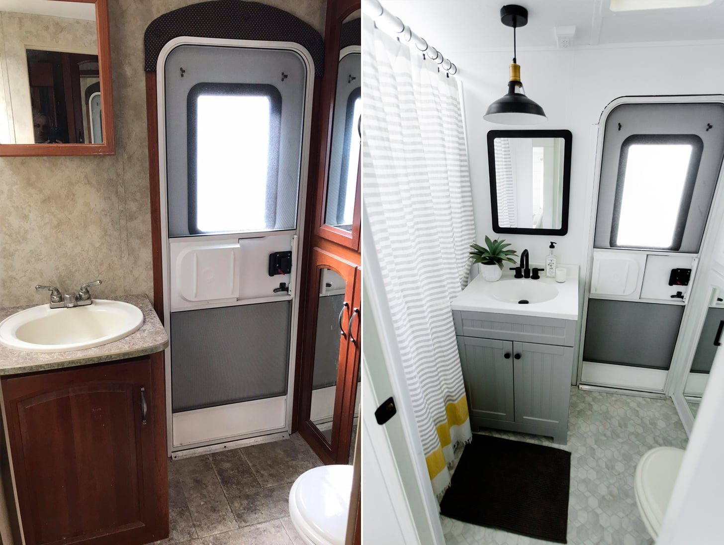 Trailer Renovation Before And After Popsugar Home
