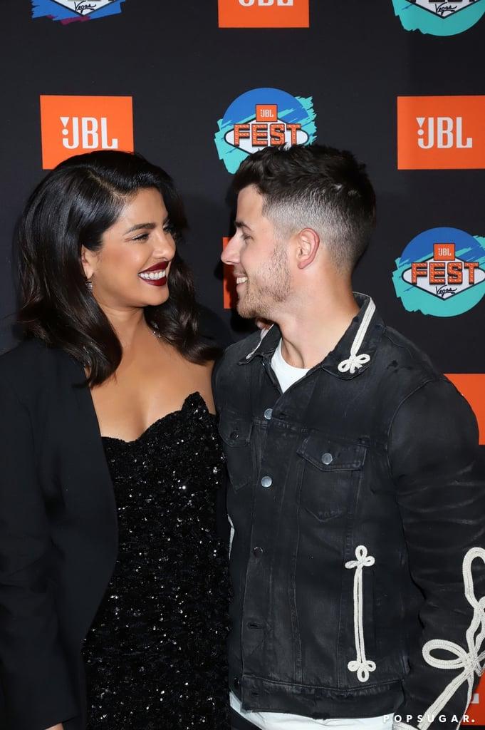 Priyanka Chopra and Nick Jonas in Vegas
