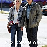 Naomi Watts and Ben Stiller exchanged smiles on the NYC set of While We're Young on Wednesday.