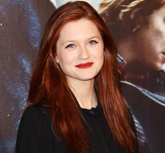 Bonnie Wright at the Harry Potter Premiere