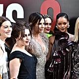 Pictured: Anne Hathaway, Helena Bonham Carter, Sandra Bullock, Sarah Paulson, Rihanna, and Cate Blanchett