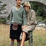 Charles and Diana spent some of their honeymoon in Balmoral