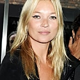 Kate Moss parties in London.