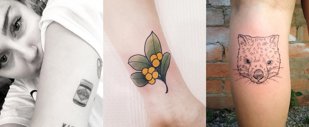 Miley Got a Vegemite Tattoo and We Want One, Too!