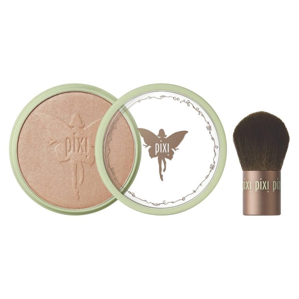 Pixi Beauty Bronzer + Kabuki Brush in Subtly Suntouched
