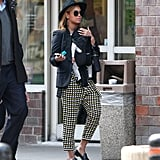 Beyonce and Blue Ivy Carter Pictures Walking in Tribeca NYC
