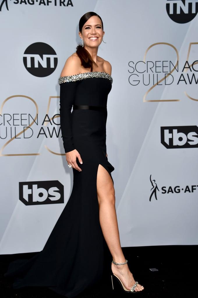 Mandy Moore Wearing Jimmy Choo Shiloh Sandals
