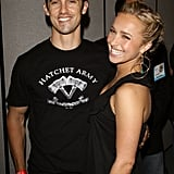 Milo Ventimiglia and Hayden Panettiere