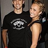 Milo Ventimiglia and Hayden Panettiere