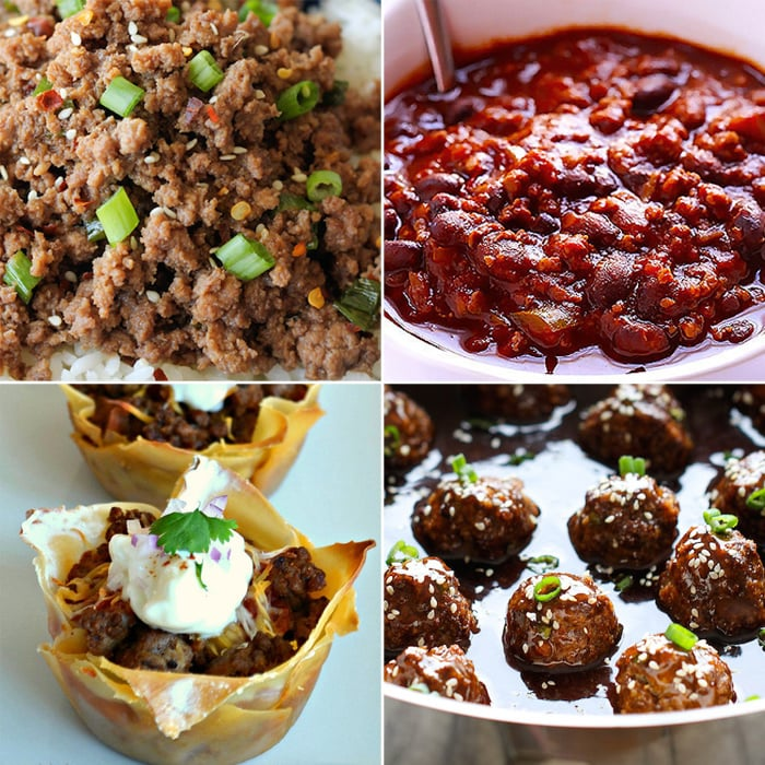 Ground beef recipes popsugar moms for What to make with hamburger meat for dinner