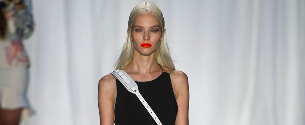 How to Wear the Orange Lipstick Trend