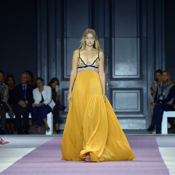 Gigi Just Closed the Giambattista Valli Show in the Most Glamorous Gown