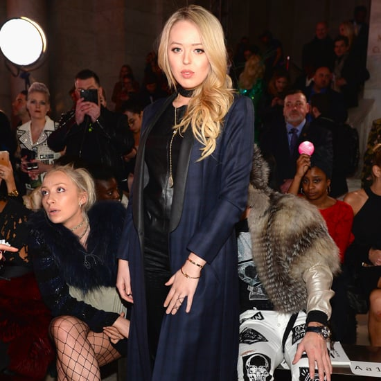 Tiffany Trump Protested at NYFW