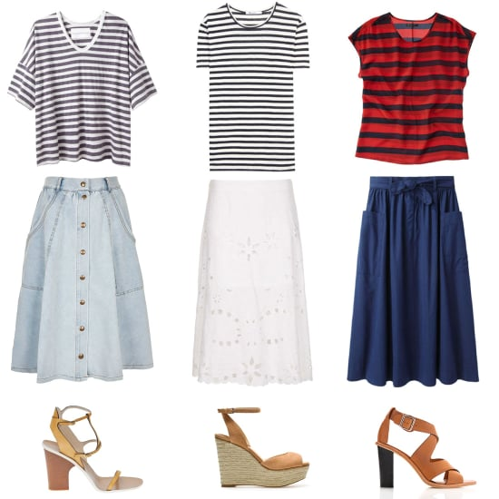 Striped Shirt Outfits For Summer