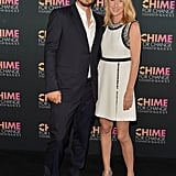 James Franco walked the carpet with Gucci Creative Director Frida Giannini.