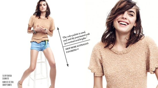 Shopbop's Australian Story: First Look at Bambi Northwood-Blyth in Benny Horne Shoot, Edited by Zanita