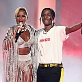 Pictured: Mary J. Blige and A$AP Rocky