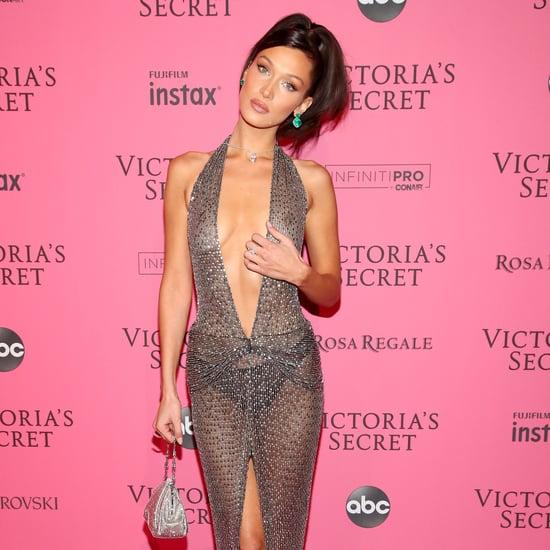 Bella Hadid's <u>barbara fialho victoria's secret 2019 fashion</u> Julien Macdonald Dress November 2018
