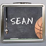 Chalkboard Basketball Lunch Box