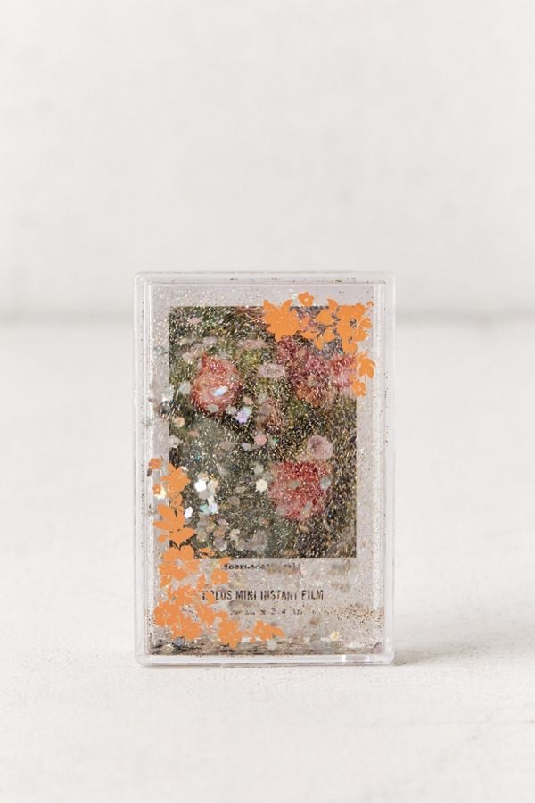 Instax Mini Glitter Floral Picture Frame Best Stocking Stuffers