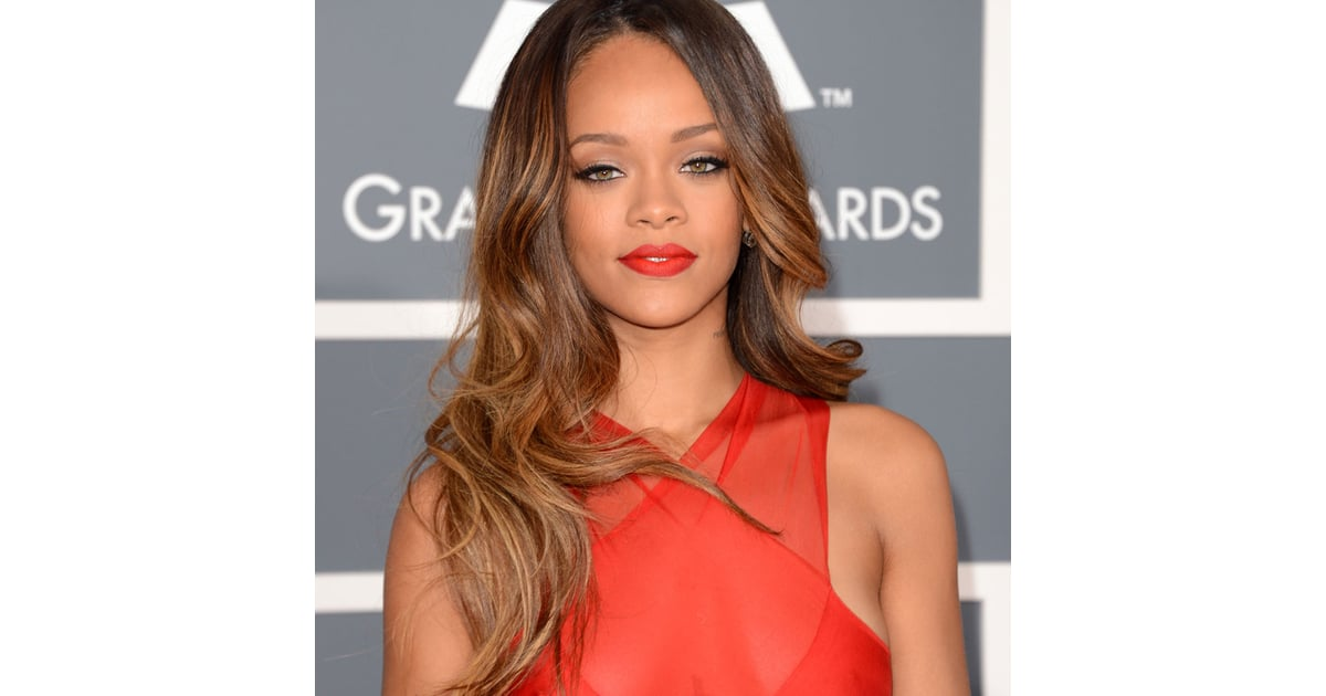 pictures of rihanna at the 2013 grammy awards popsugar