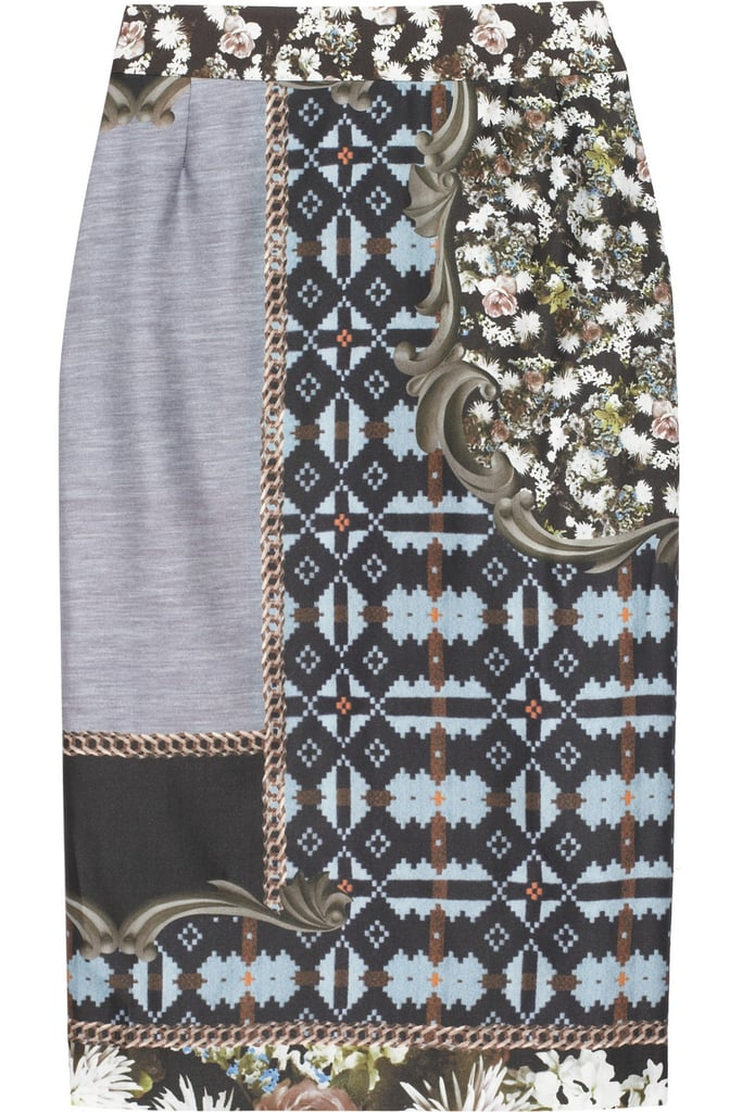 With just a few accessory swaps, this Emma Cook printed silk and cotton skirt ($132, originally $440) is ideal for work and play.
