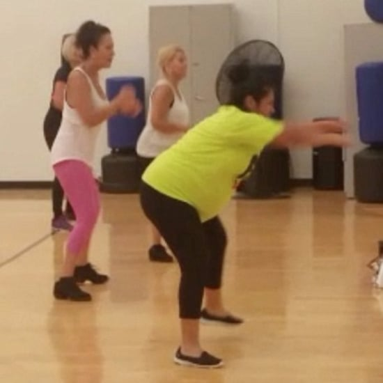 Mom Teaching Zumba at 9 Months Pregnant