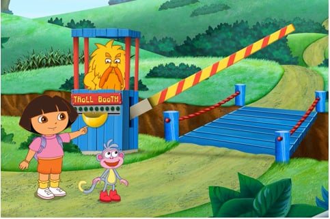 Dora's Rhyming Word Adventure