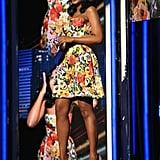 Kerry Washington spoke on stage at the BET Awards.