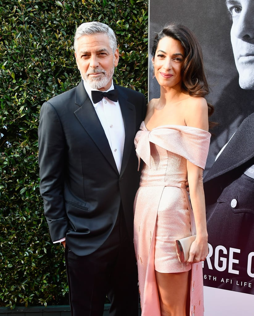 Amal Clooney's Pink Prada Gown 2018