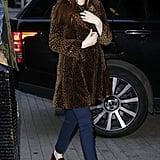 Gucci's Furry Leopard Coat