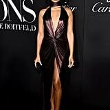 Shanina Shaik at the Harper's Bazaar ICONS Party During New York Fashion Week