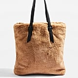Topshop Freddy Faux Fur Shopper Bag