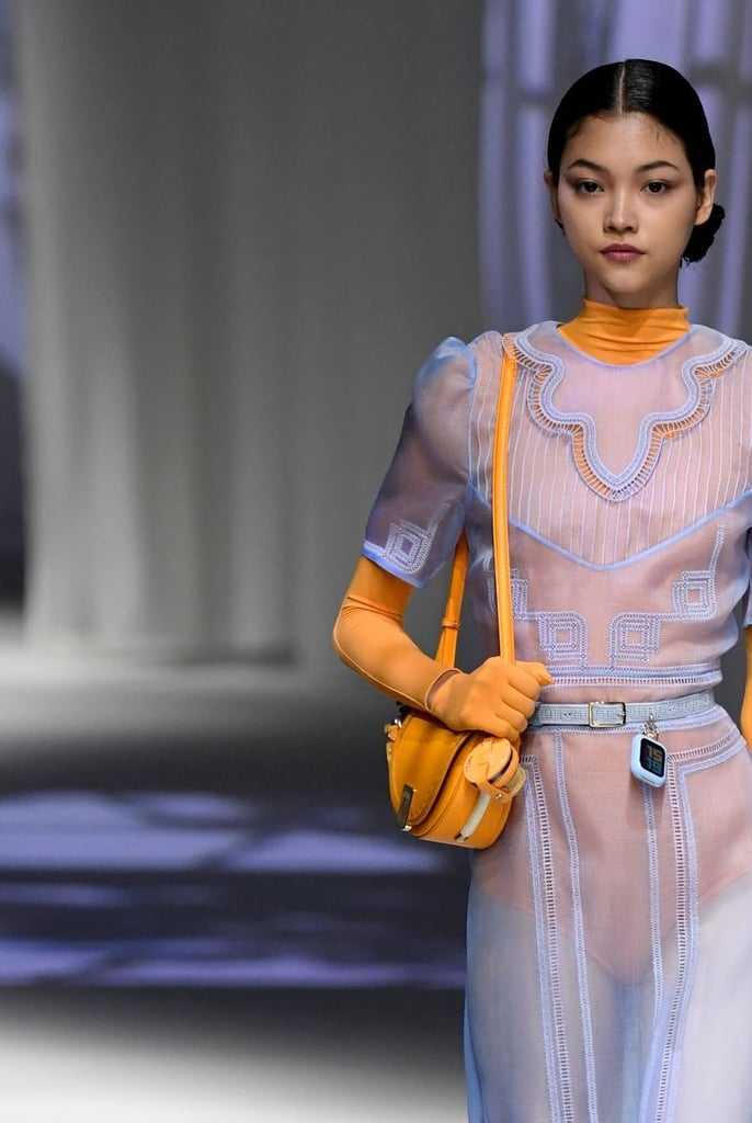 A bag from the Fendi Spring / Summer 2021 runway.