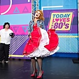 Savannah Guthrie as Cyndi Lauper